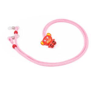 Catenella fermaocchiali per bambini Fashion Cords CENTRO STYLE rosa-1