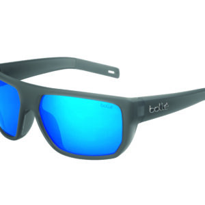 12661 – VULTURE – Crystal Grey Matte – HD Polarized Offshore Blue